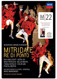 Mitridate, re di Ponto, DVD