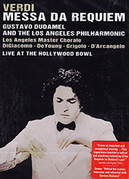 Verdi: Messa di Requiem at the Hollywood Bowl, DVD